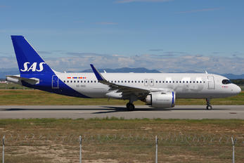 SE-RUC - SAS - Scandinavian Airlines Airbus A320 NEO