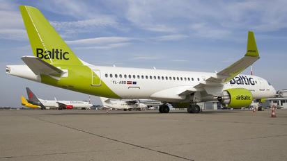 YL-ABD - Air Baltic Airbus A220-300