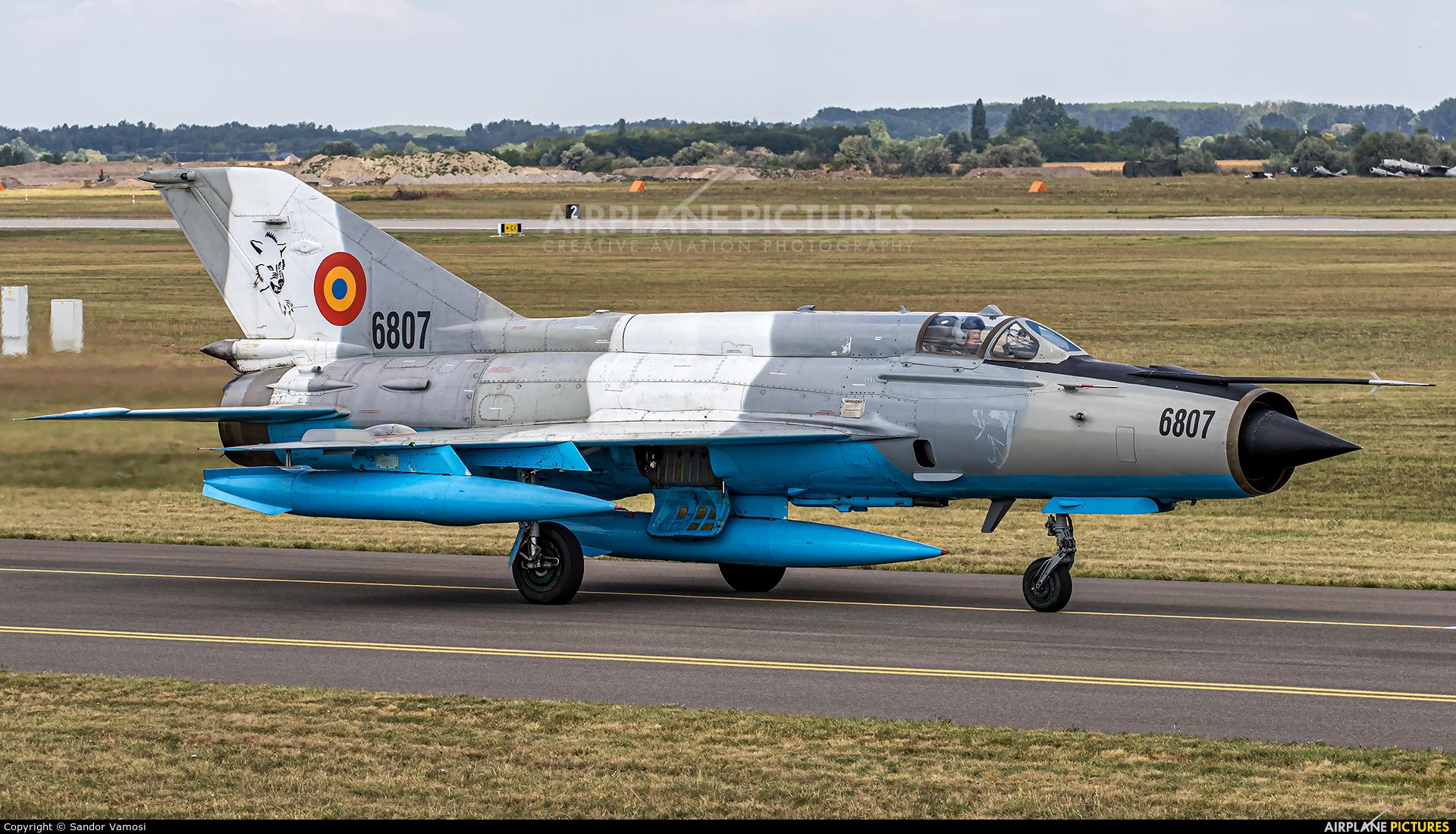 Romania - Air Force 6807 aircraft at Kecskemét