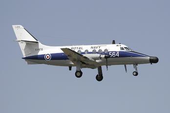 XX478 - Royal Navy Scottish Aviation Jetstream T.2