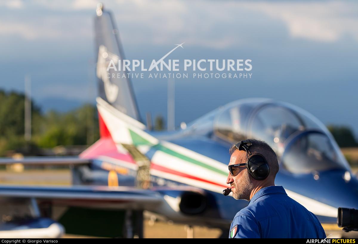 "Italy - Air Force ""Frecce Tricolori"" MM54485 aircraft at Rivolto"
