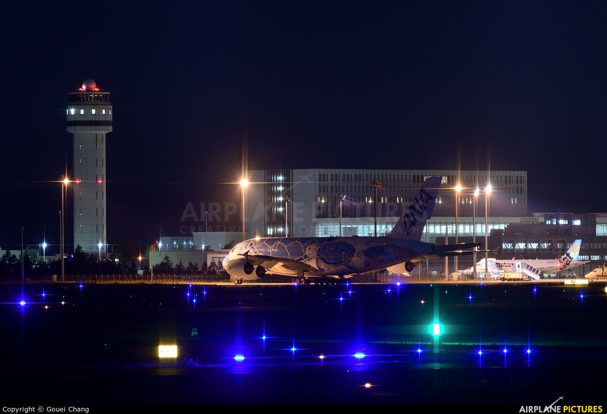 ANA - All Nippon Airways JA381A aircraft at New Chitose