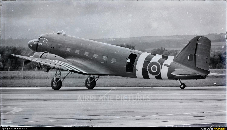 """Royal Air Force """"Battle of Britain Memorial Flight"""" ZA947 aircraft at Ostrava Mošnov"""