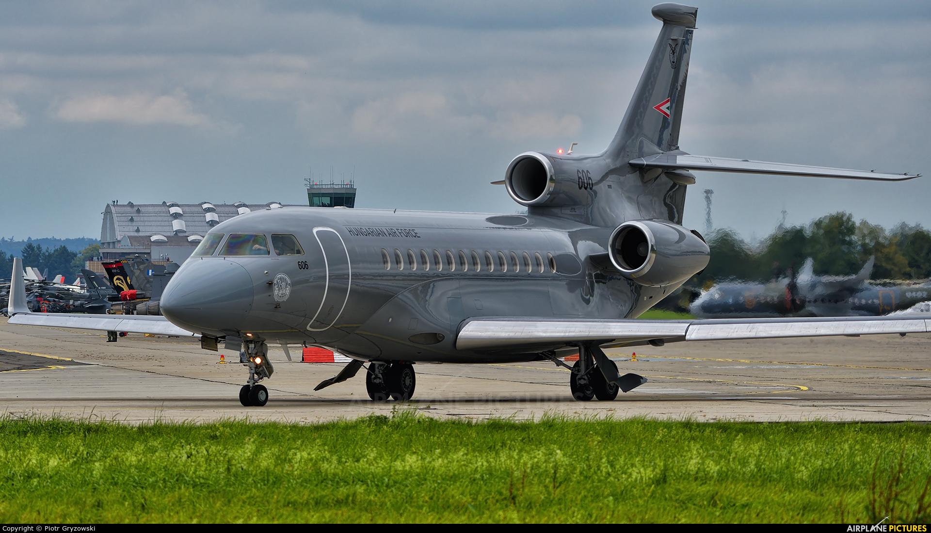 Hungary - Air Force 606 aircraft at Ostrava Mošnov