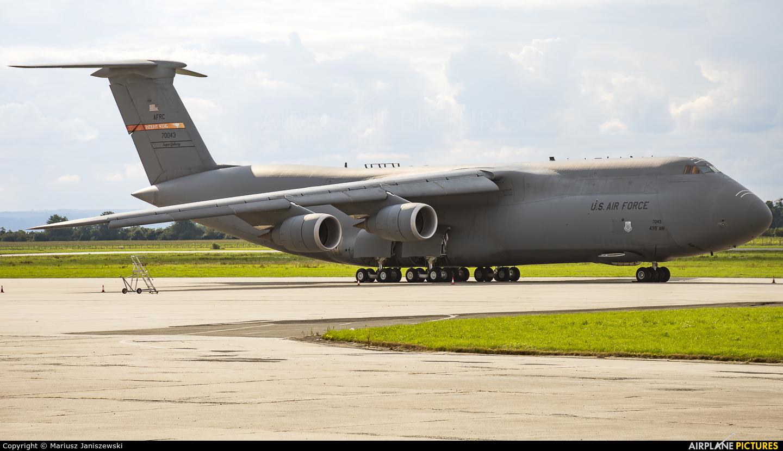 USA - Air Force 87-0043 aircraft at Ostrava Mošnov