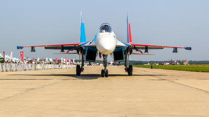 """51 - Russia - Air Force """"Russian Knights"""" Sukhoi Su-35S"""