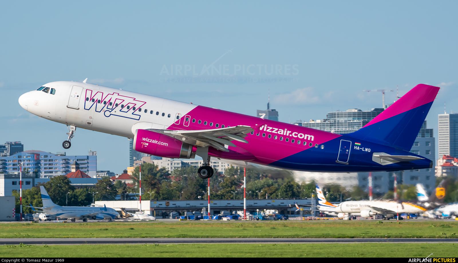 Wizz Air HA-LWQ aircraft at Warsaw - Frederic Chopin
