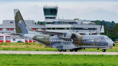 0481 - Czech - Air Force Casa C-295MW