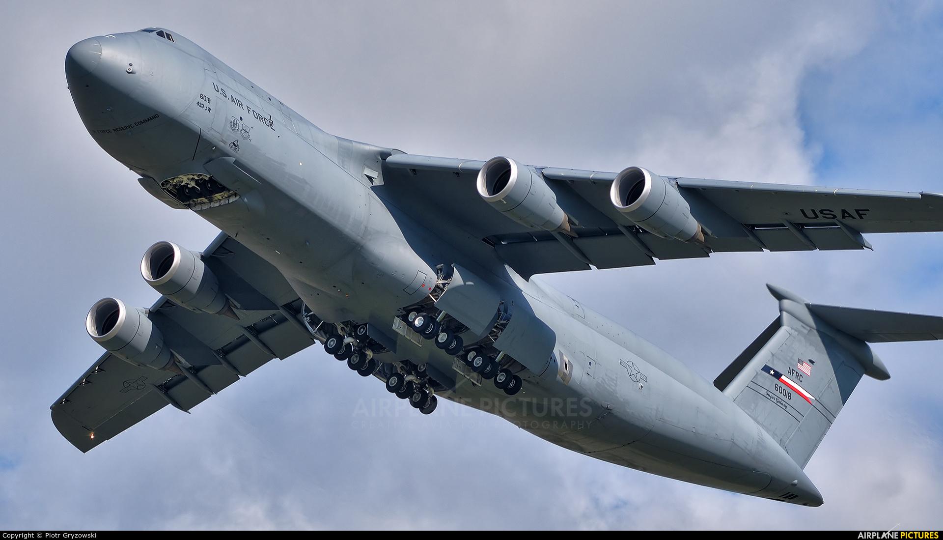 USA - Air Force 86-0018 aircraft at Ostrava Mošnov