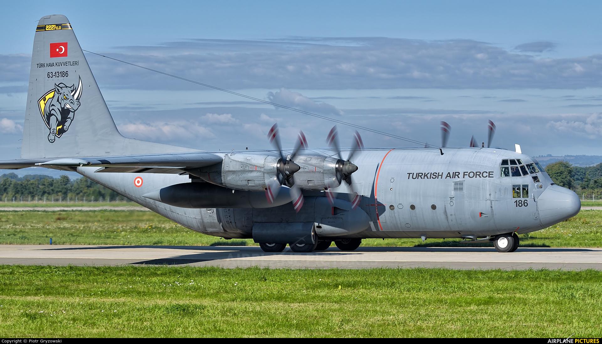 Turkey - Air Force 63-13186 aircraft at Ostrava Mošnov