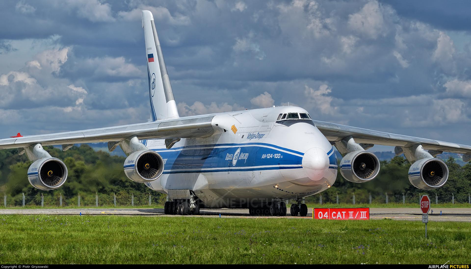 Volga Dnepr Airlines RA-82044 aircraft at Ostrava Mošnov