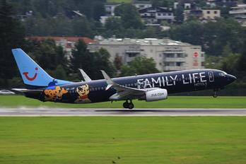 OO-JAF - TUI Airlines Belgium Boeing 737-800