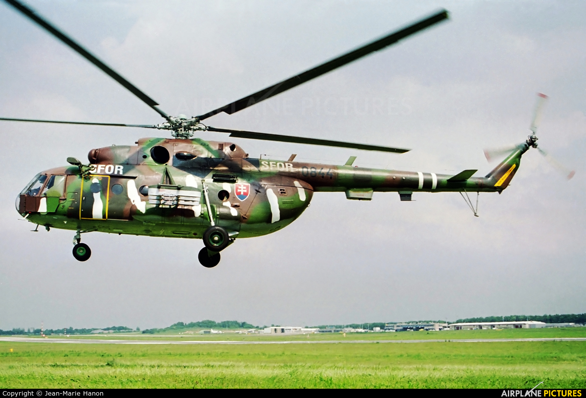 Slovakia -  Air Force 0844 aircraft at Liège-Bierset