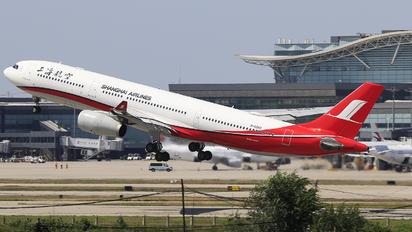 B-6083 - Shanghai Airlines Airbus A330-300