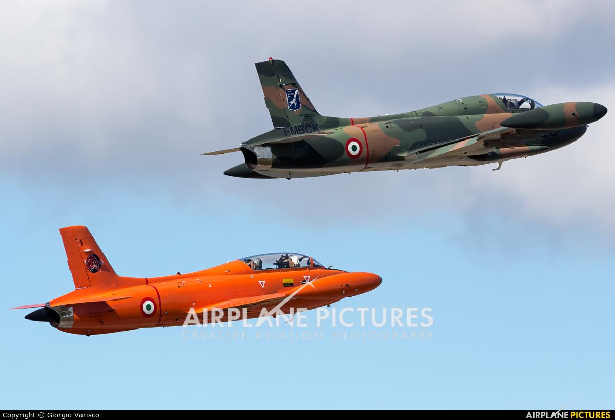 Private I-MBCK aircraft at Rivolto