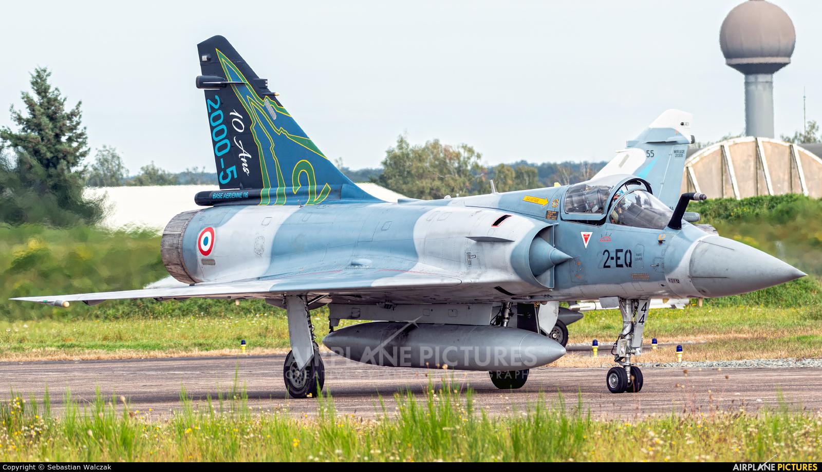 France - Air Force 44 aircraft at Luxeuil-Saint-Sauveur AB