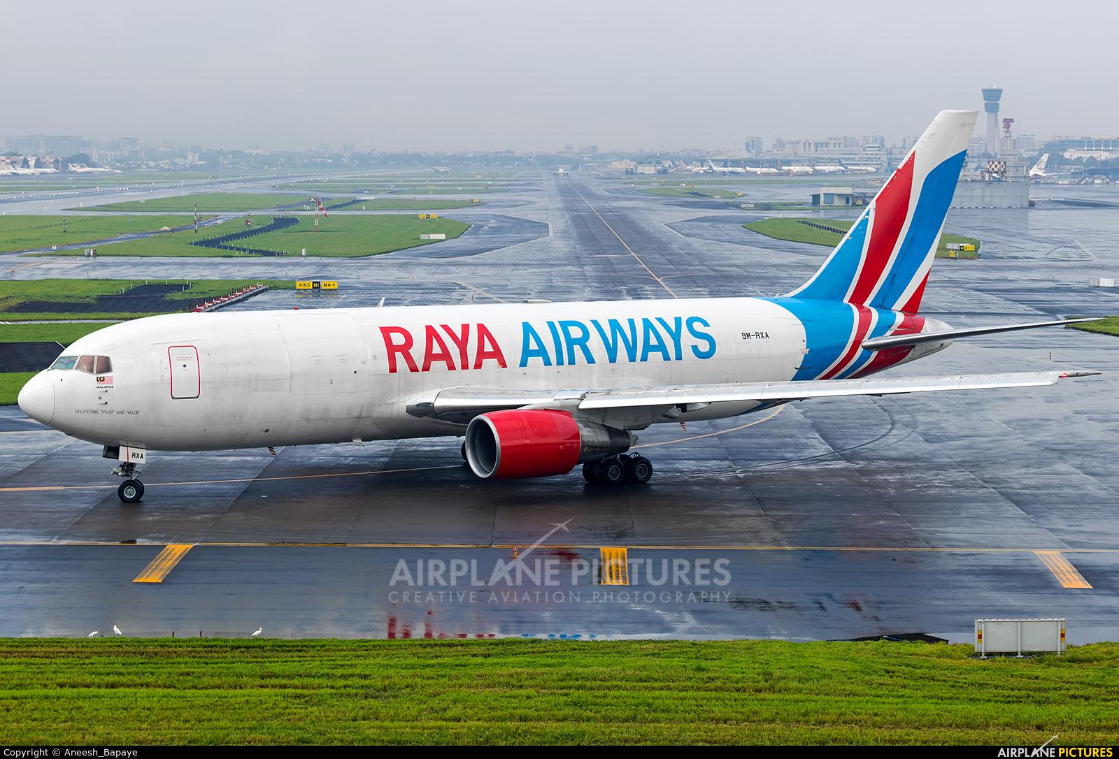 Raya Airways 9M-RXA aircraft at Mumbai - Chhatrapati Shivaji Intl