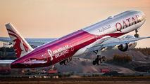 #3 Qatar Airways Boeing 777-300ER A7-BEC taken by Aleksi Hamalainen