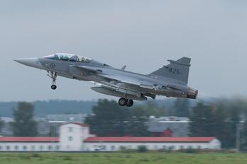 39826 - Sweden - Air Force SAAB JAS 39D Gripen