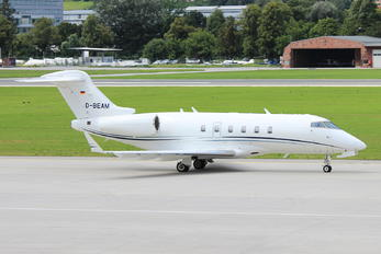 D-BEAM - Private Bombardier BD-100 Challenger 300 series