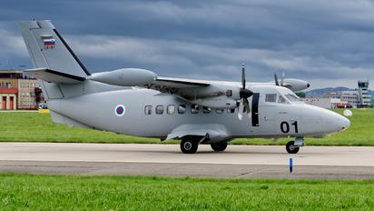 L4-01 - Slovenia - Air Force LET L-410UVP-E Turbolet