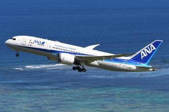 JA818A - ANA - All Nippon Airways Boeing 787-8 Dreamliner