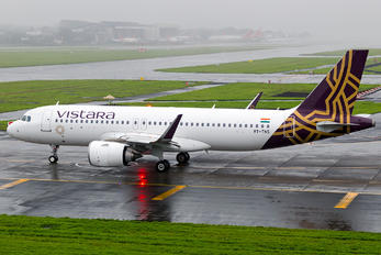 VT-TNS - Vistara Airbus A320 NEO
