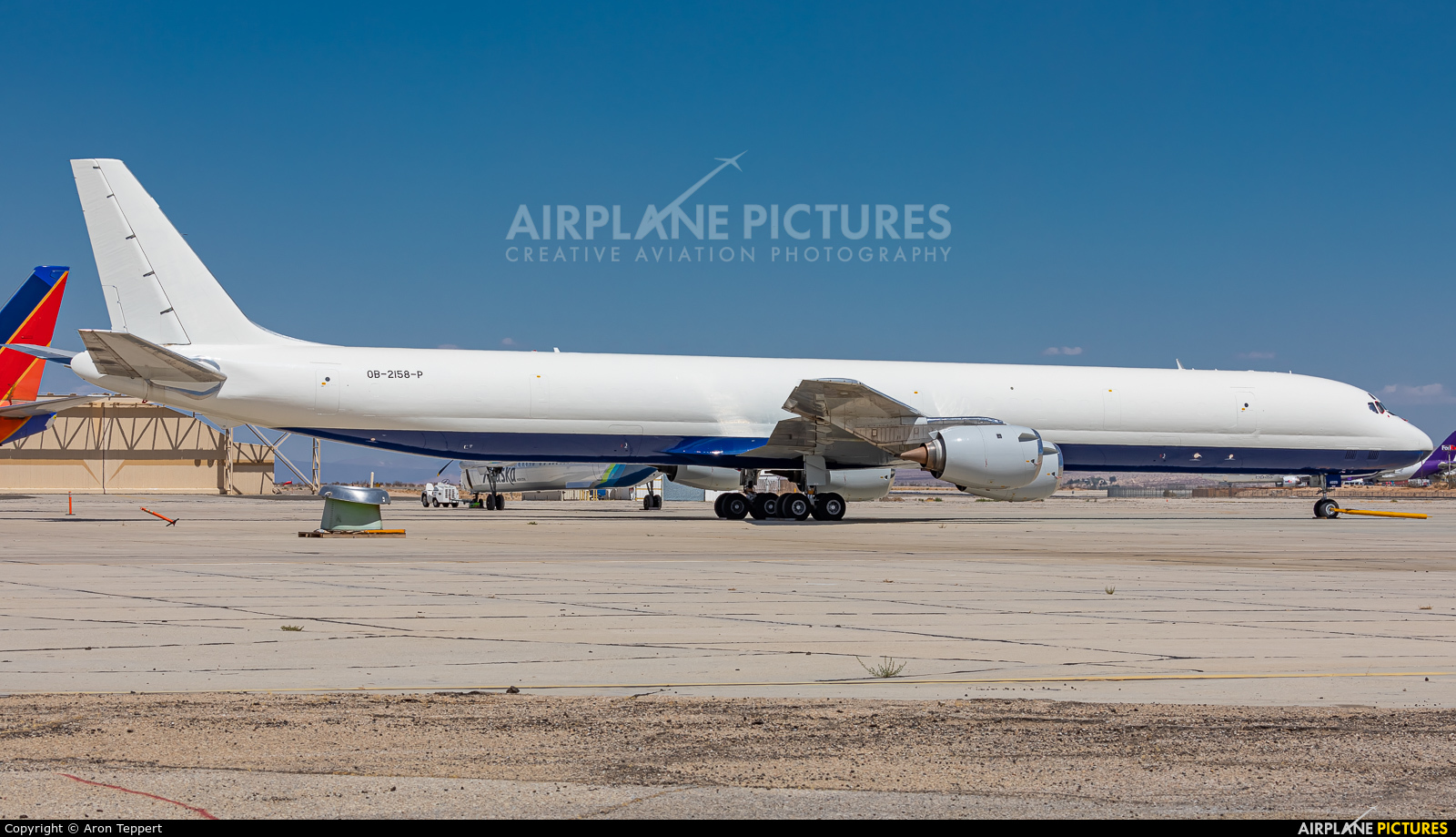 Peruvian Airlines OB-2158-P aircraft at Victorville - Southern California Logistics