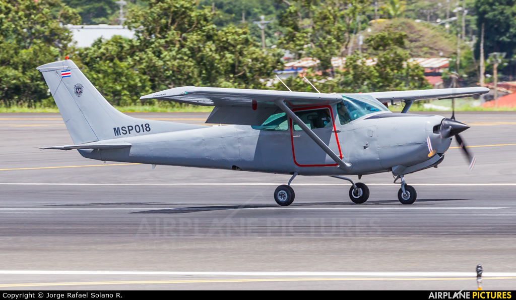 Costa Rica - Ministry of Public Security MSP018 aircraft at San Jose - Juan Santamaría Intl