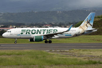 N233FR - Frontier Airlines Airbus A320