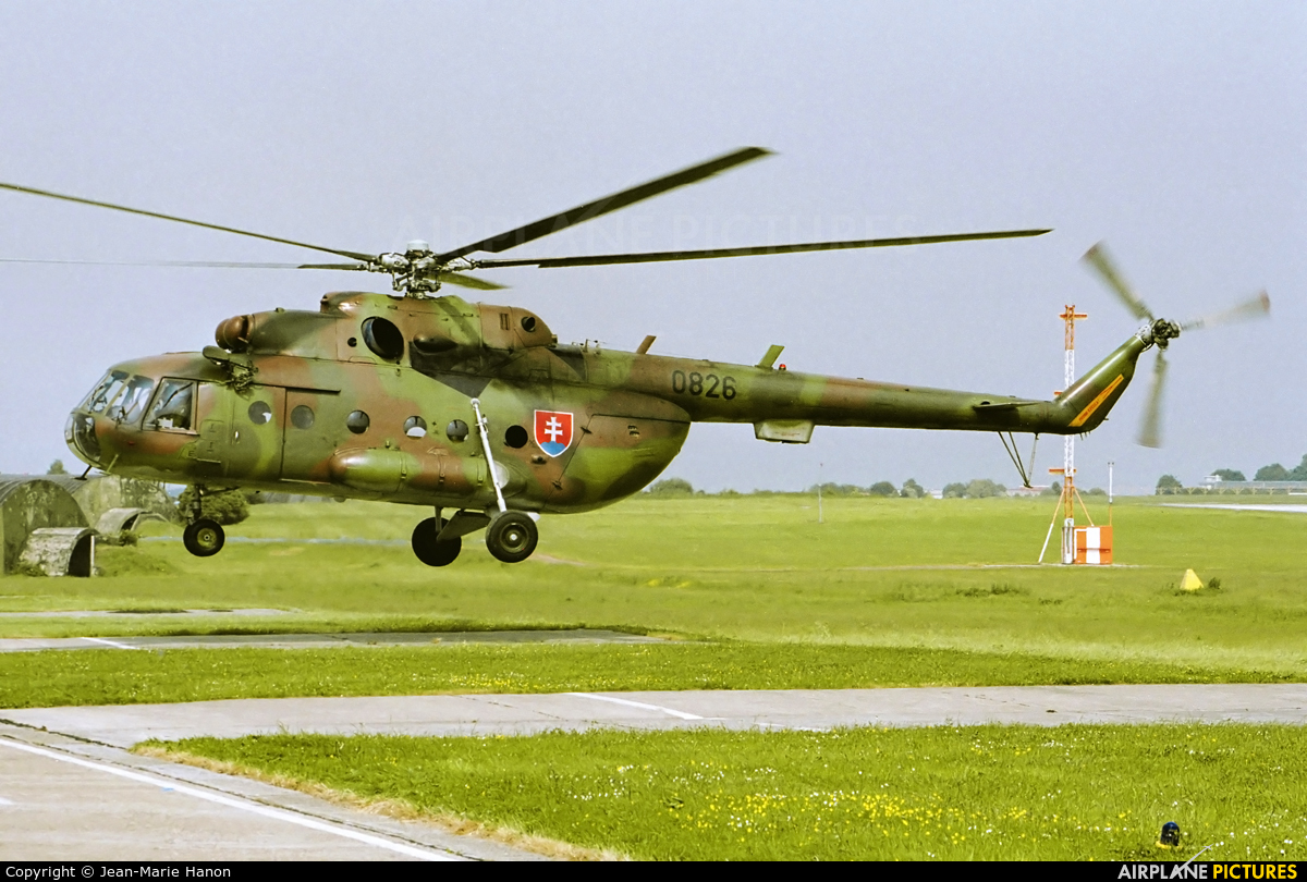 Slovakia -  Air Force 0826 aircraft at Liège-Bierset