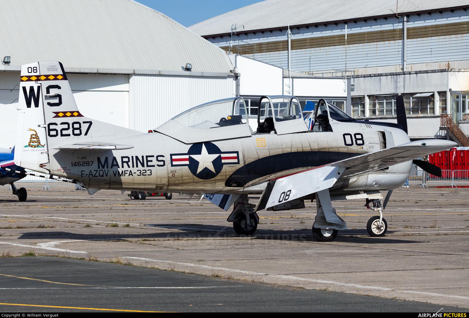Private F-AZQV aircraft at Melun-Villaroche