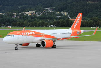 G-UZHX - easyJet Airbus A320 NEO