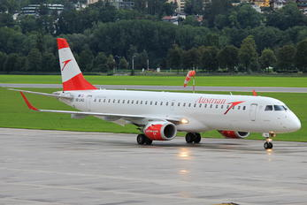 OE-LWQ - Austrian Airlines/Arrows/Tyrolean Embraer ERJ-195 (190-200)
