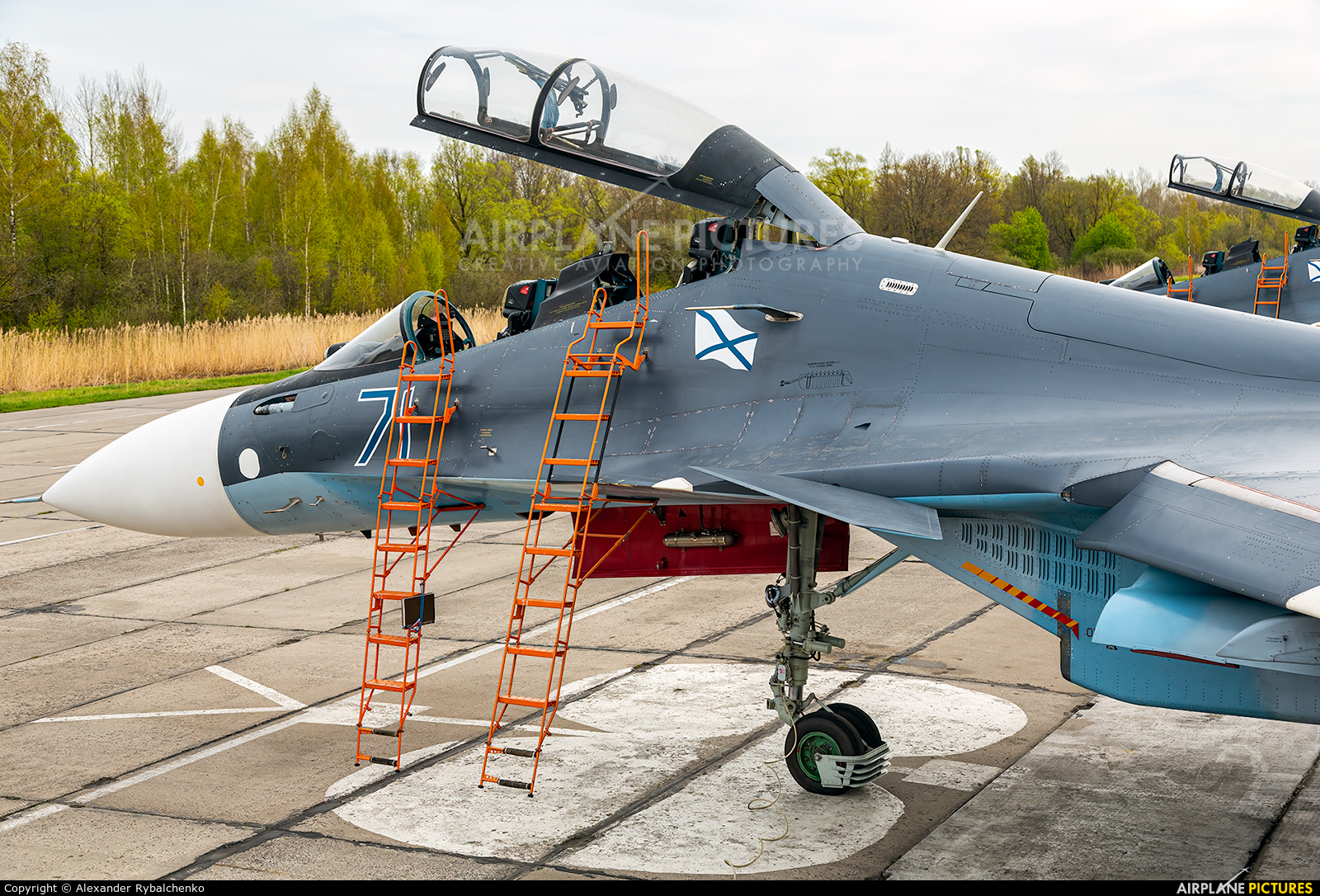Russia - Navy RF-34009 aircraft at Undisclosed Location