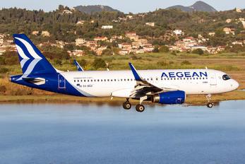 SX-DGZ - Aegean Airlines Airbus A320