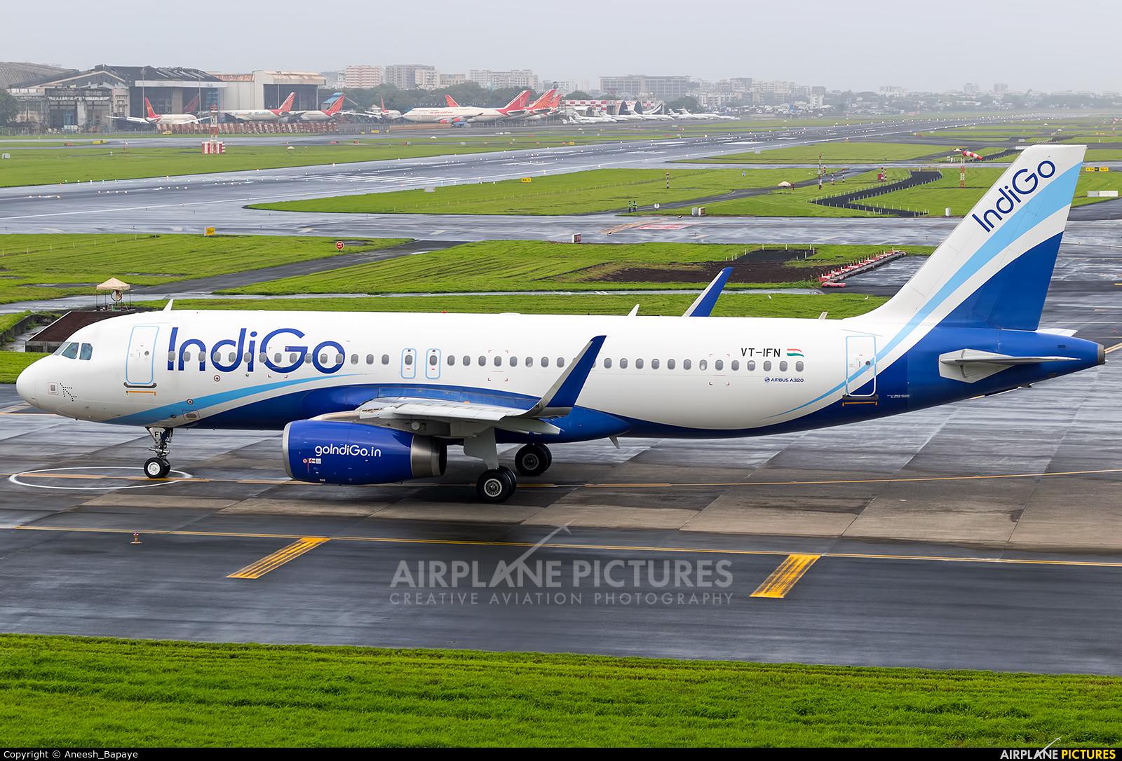 IndiGo VT-IFN aircraft at Mumbai - Chhatrapati Shivaji Intl