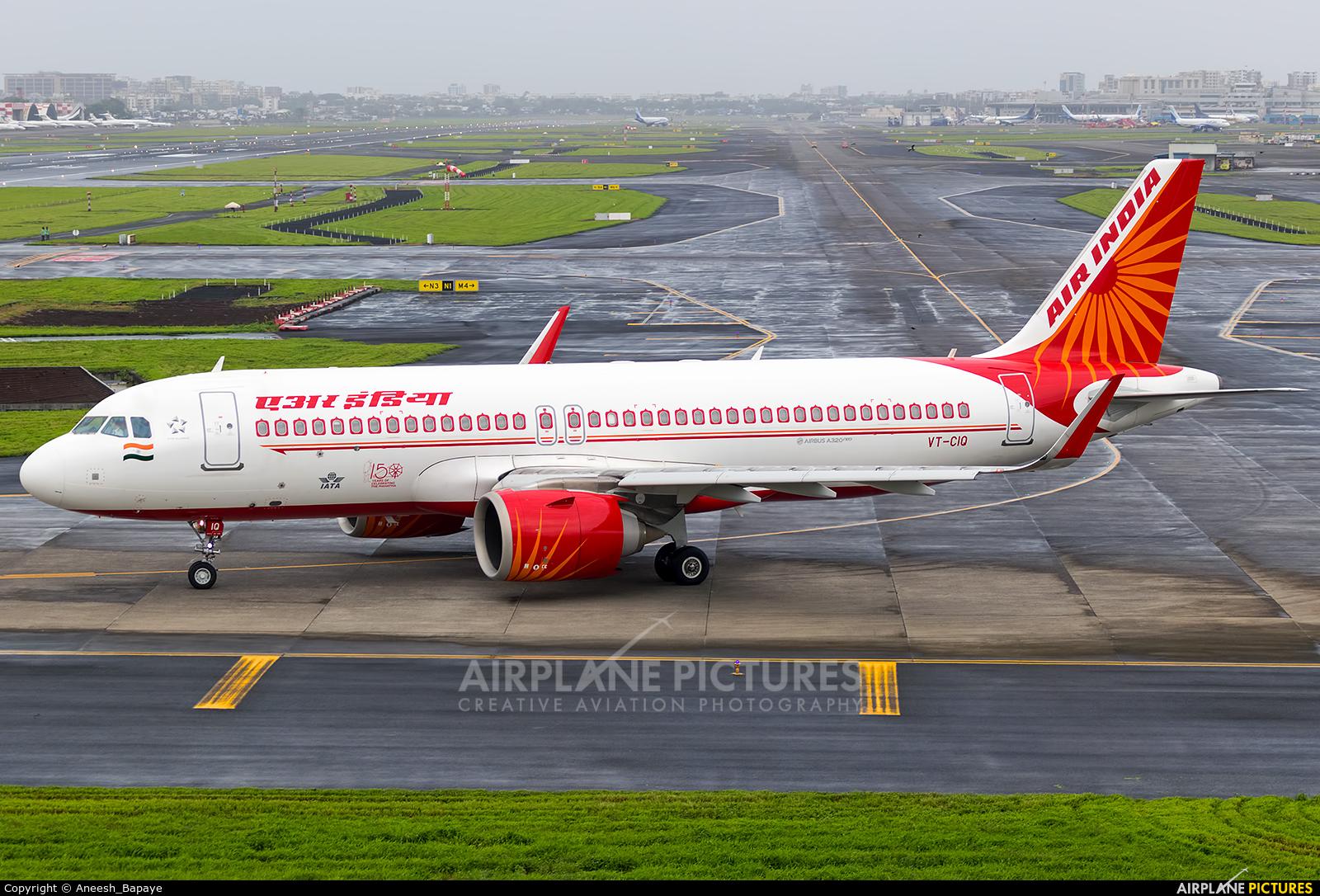 Air India VT-CIQ aircraft at Mumbai - Chhatrapati Shivaji Intl