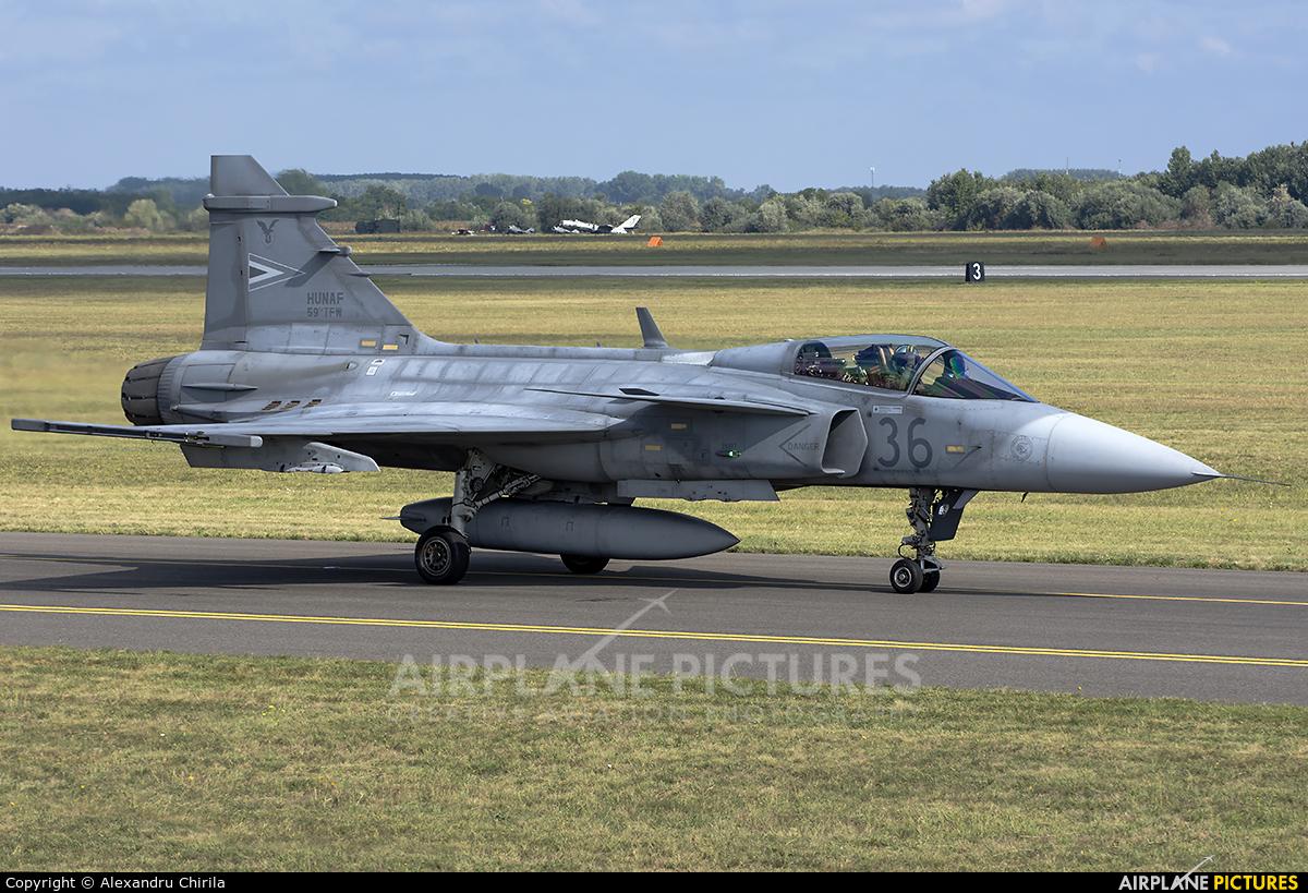 Hungary - Air Force 36 aircraft at Kecskemét