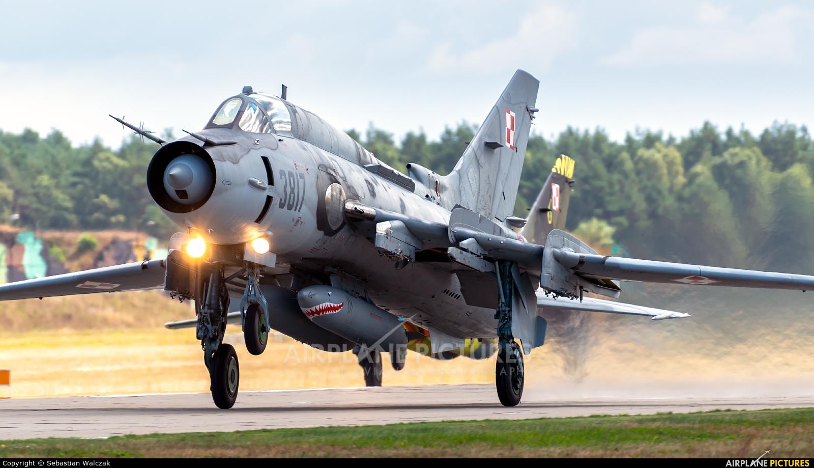 Poland - Air Force 3817 aircraft at Mirosławiec