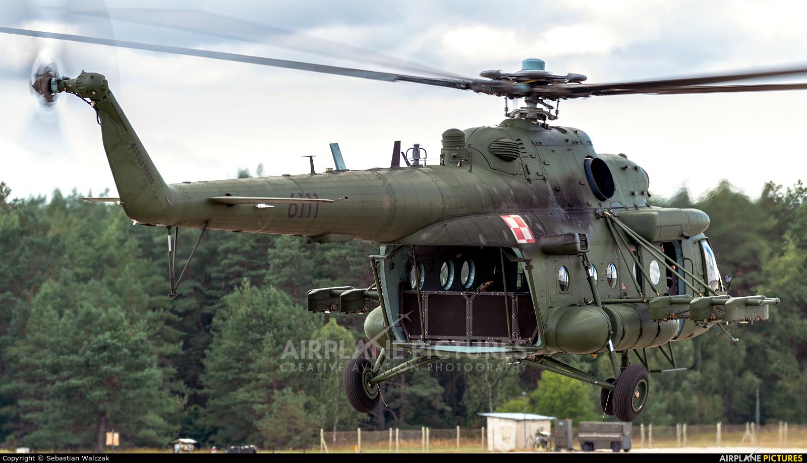 Poland - Army 6111 aircraft at Mirosławiec