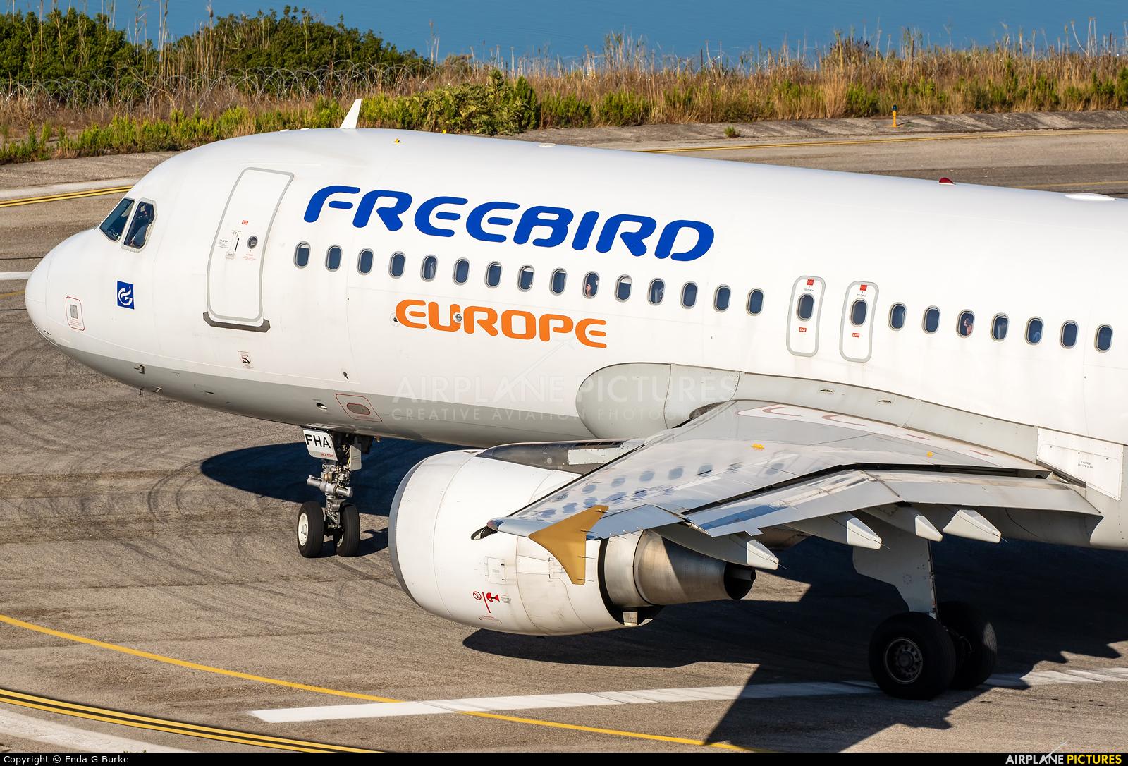 FreeBird Airlines 9H-FHA aircraft at Corfu - Ioannis Kapodistrias