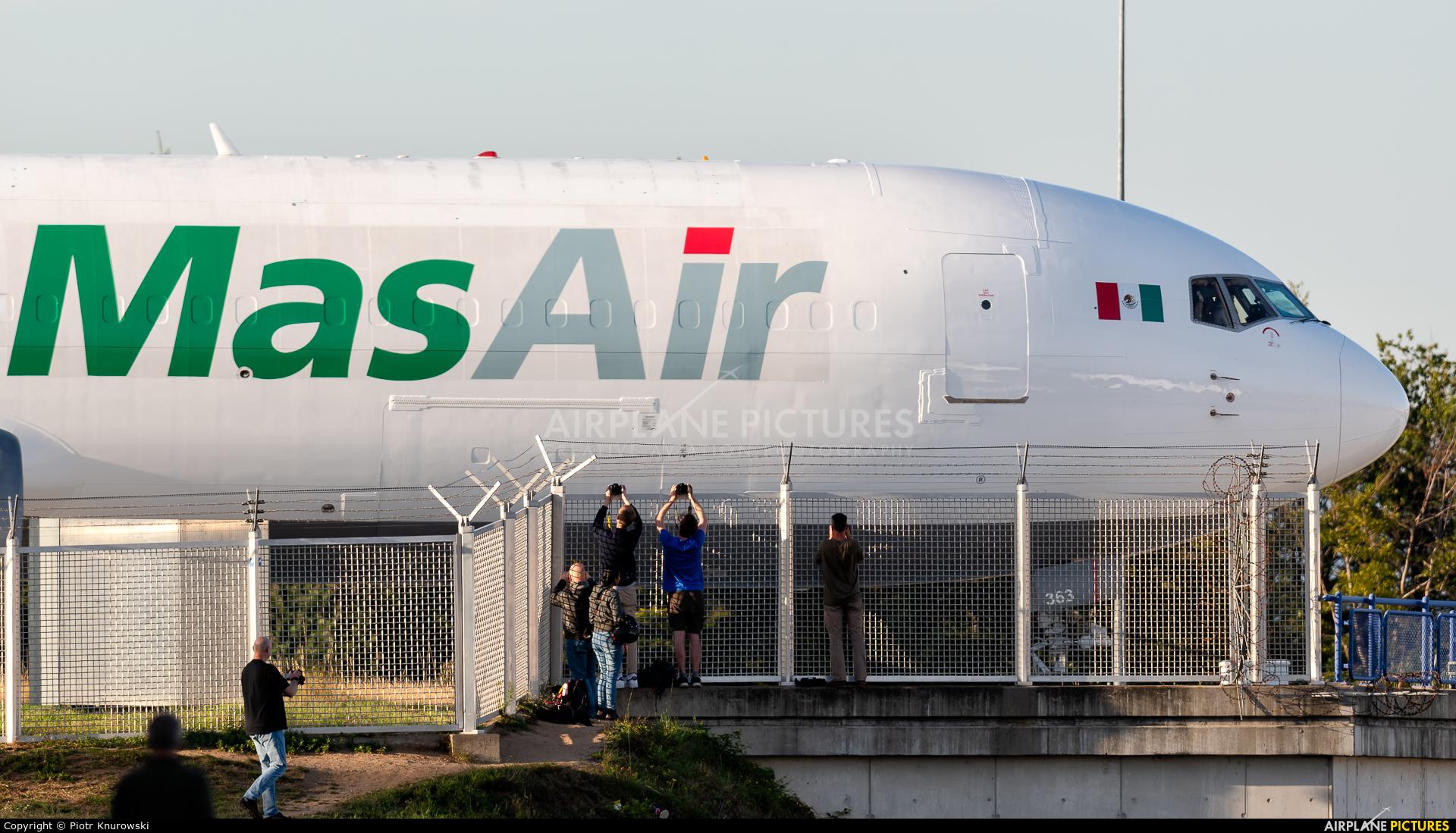 MasAir N363CM aircraft at Frankfurt