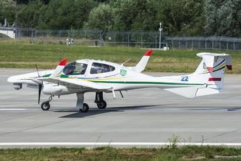 22 BLUE - Ukraine - Air Force Diamond DA-42 NG Twin Star