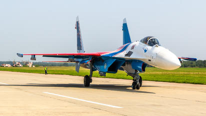 """50 - Russia - Air Force """"Russian Knights"""" Sukhoi Su-35S"""
