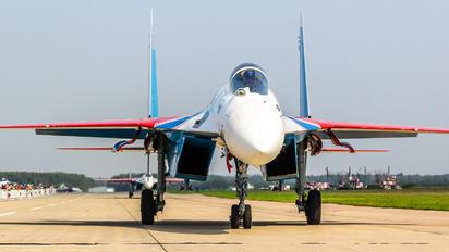 "RF-95906 - Russia - Air Force ""Russian Knights"" Sukhoi Su-35S"