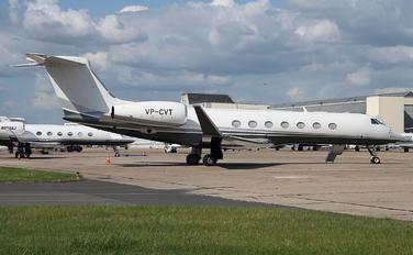 VP-CVT - Private Gulfstream Aerospace G-V, G-V-SP, G500, G550