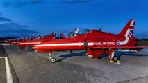 "XX188 - Royal Air Force ""Red Arrows"" British Aerospace Hawk T.1/ 1A aircraft"