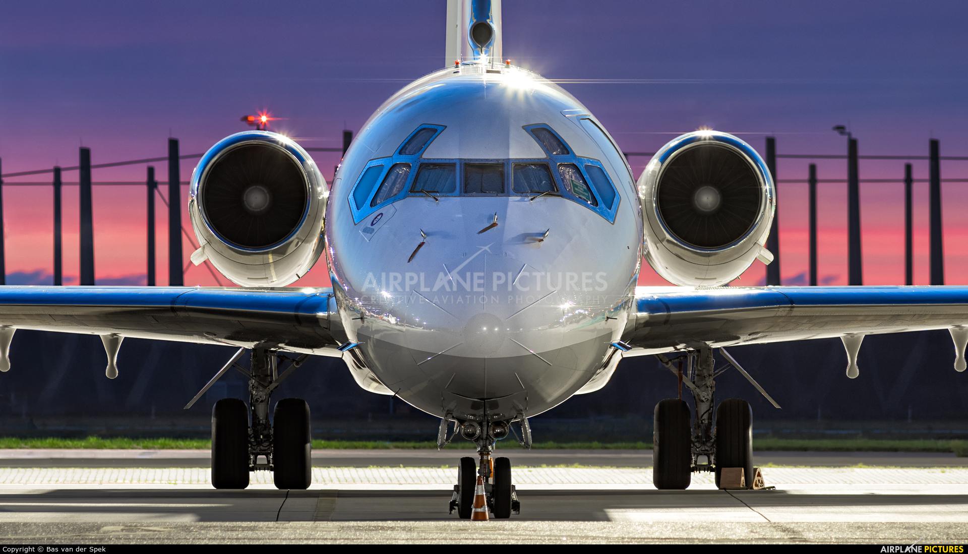 Private VP-CAA aircraft at Amsterdam - Schiphol