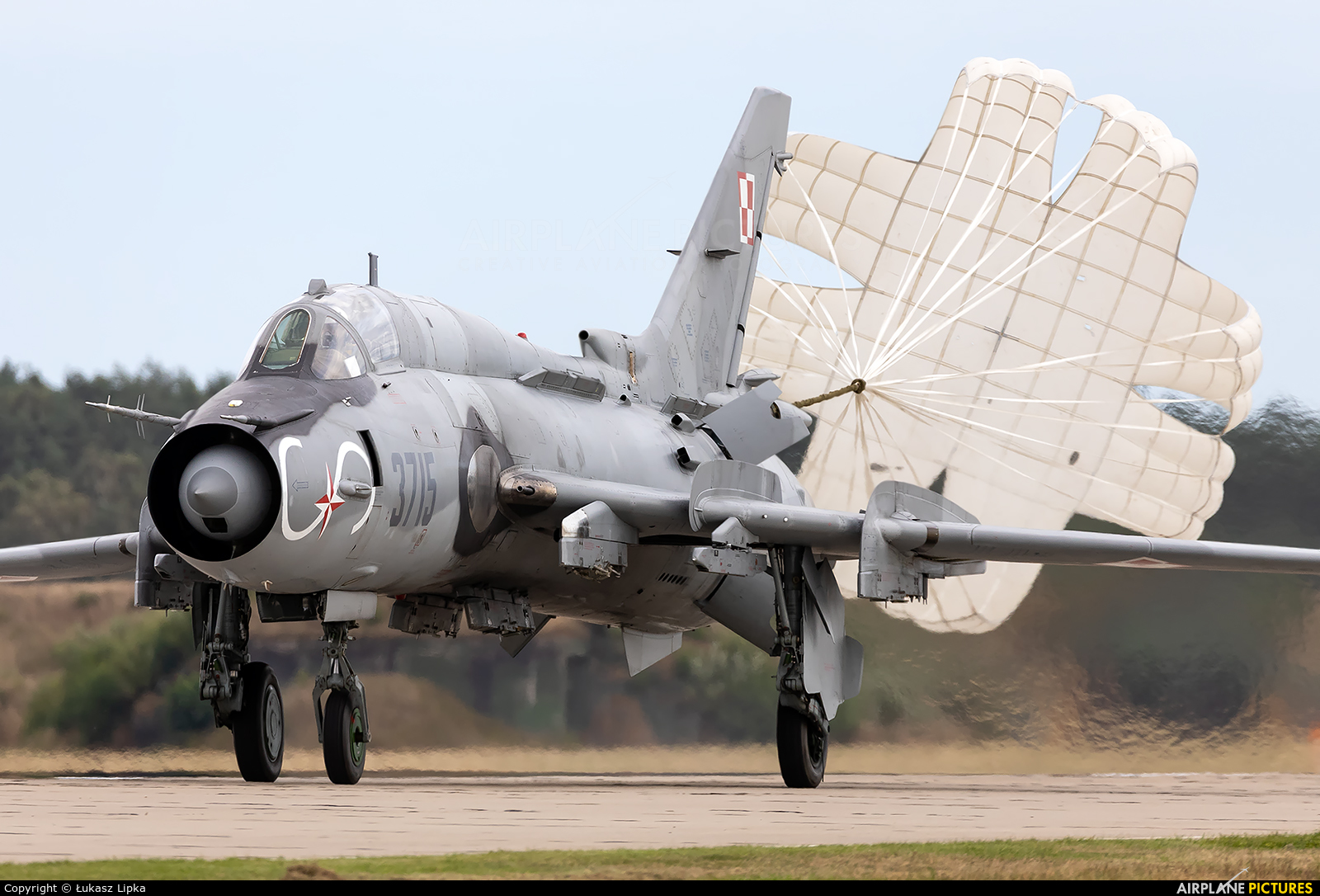 Poland - Air Force 3715 aircraft at Mirosławiec